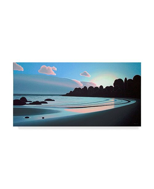 "Trademark Global Ron Parker 'Evening Light' Canvas Art - 12"" x 24"""