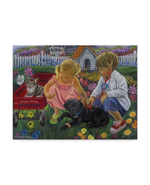 """Trademark Global Tricia Reilly-Matthews 'The Doctor Is In' Canvas Art - 14"""" x 19"""""""