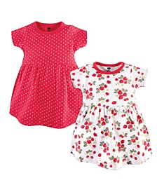 Baby Girl Cotton Dress, 2 Pack