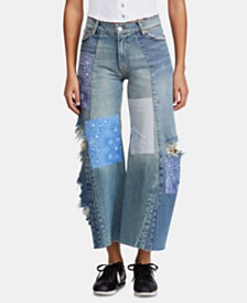 Free People Heart of Gold Wide Leg Jeans