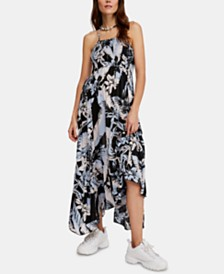 Free People Heat Wave Printed Maxi