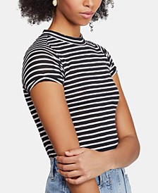 Nigh Sky Striped Short-Sleeve T-Shirt