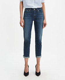 Levi's® New Boyfriend Distressed Tapered-Leg Jeans