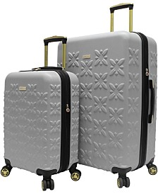 BCBGeneration Butterfly 2-Piece Hardside Spinner Luggage Set