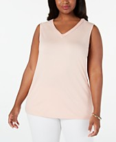 0df2368e925 JM Collection Plus Size Embellished Tank Top, Created for Macy's