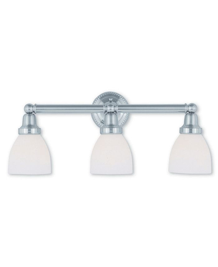 Livex - Classic 3-Light Bath Vanity Fixture