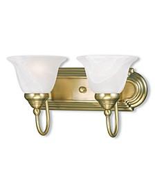 Belmont 2-Light Bath Vanity Fixture
