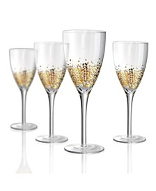 Artland Ambrosia Wine Glass - Set of 4