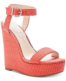 Taery Platform Wedge Sandals