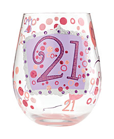 Enesco Lolita 21 Stemless Glass