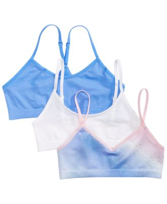 Girls Crop Bras Maidenform 3-pk