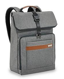Briggs & Riley Kinzie Street 2.0 Medium Fold-Over Backpack