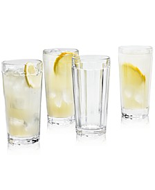 La Dolce Vita Clear Highball Glasses, Set of 4, Created for Macy's