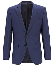 BOSS Men's Huge6 Slim-Fit Wool Jacket