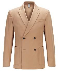 BOSS Men's Nielsen2 Double-Breasted Slim-Fit Jacket