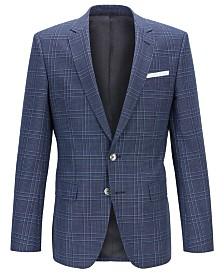 BOSS Men's Hutsons4 Slim-Fit Wool Jacket