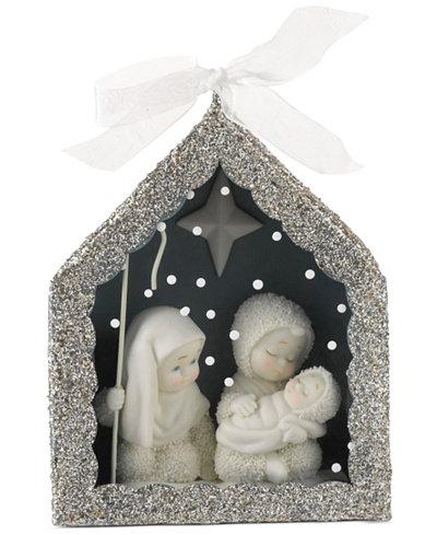Department 56 Snowbabies Dream Nativity Shadow Box Ornament