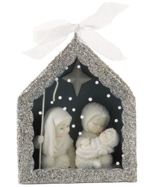 Department 56 Snowbabies Dream Nativity Shadow Box Ornament