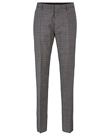 BOSS Men's Genesis4 Slim-Fit Wool Trousers