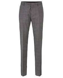 BOSS Men's Genesis4 Slim-Fit Wool Trousers