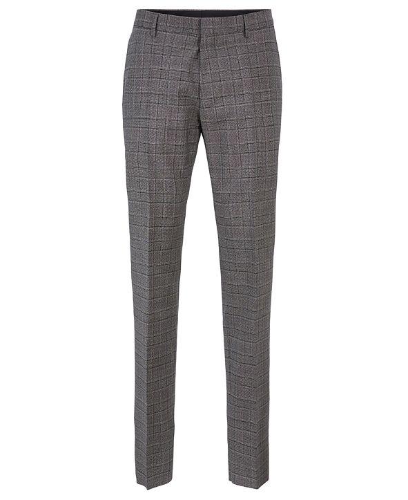 Hugo Boss BOSS Men's Genesis4 Slim-Fit Wool Trousers
