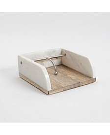Laurie Gates Marble Napkin Holder