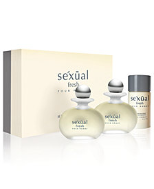 Michel Germain Men's Sexual Fresh Pour Homme 3-Pc. Gift Set, $130 Value, Created for Macy's