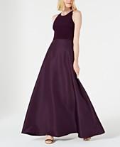 859a5e43fb0a4 Adrianna Papell Halter Mikado Gown