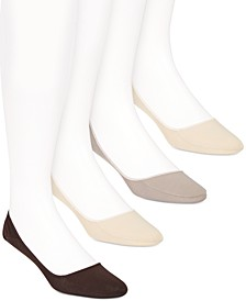 Men's 4-Pk. No-Show Socks