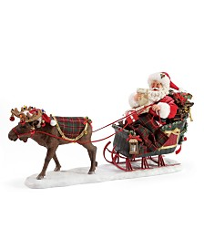 Department 56 Possible Dreams Santa Christmoosetime Figurine