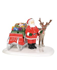 Department 56 Villages Santa Comes to Town, 2019