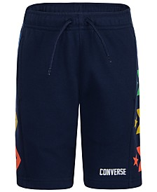 Converse Big Boys Chevron Logo Drawstring Shorts