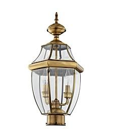 Monterey 2-Light Outdoor Post Lantern A