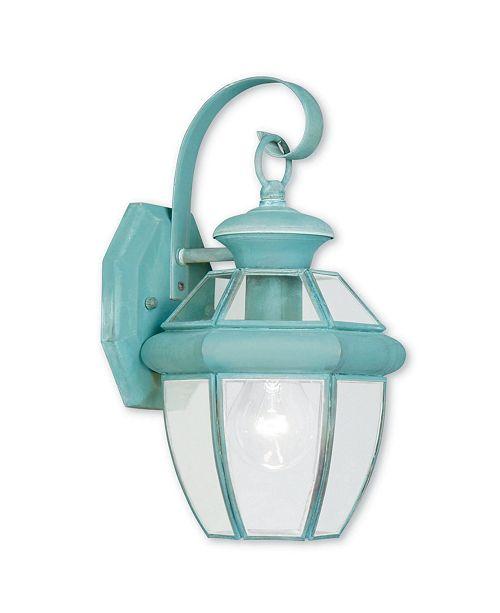 Livex Monterey 1-Light Outdoor Wall Lantern