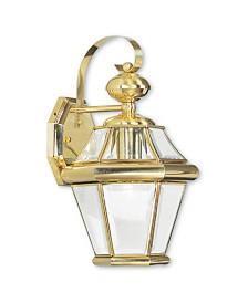 CLOSEOUT! Livex   Georgetown 1-Light Outdoor Wall Lantern