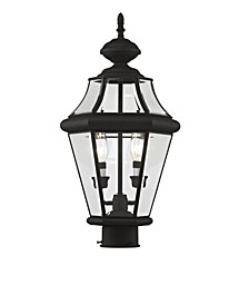 Georgetown 2-Light Outdoor Post Lantern