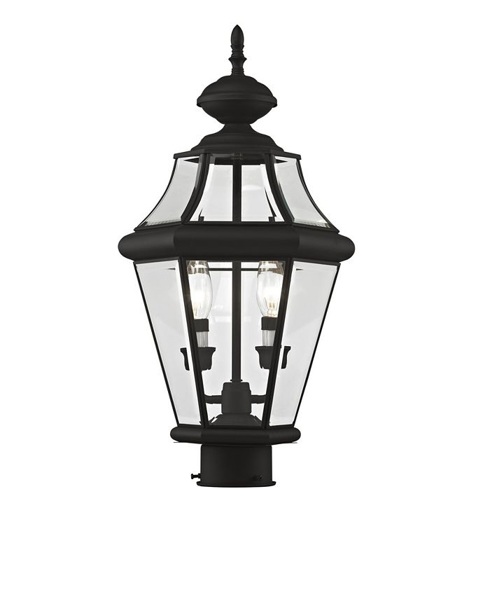 Livex - Georgetown 2-Light Outdoor Post Lantern