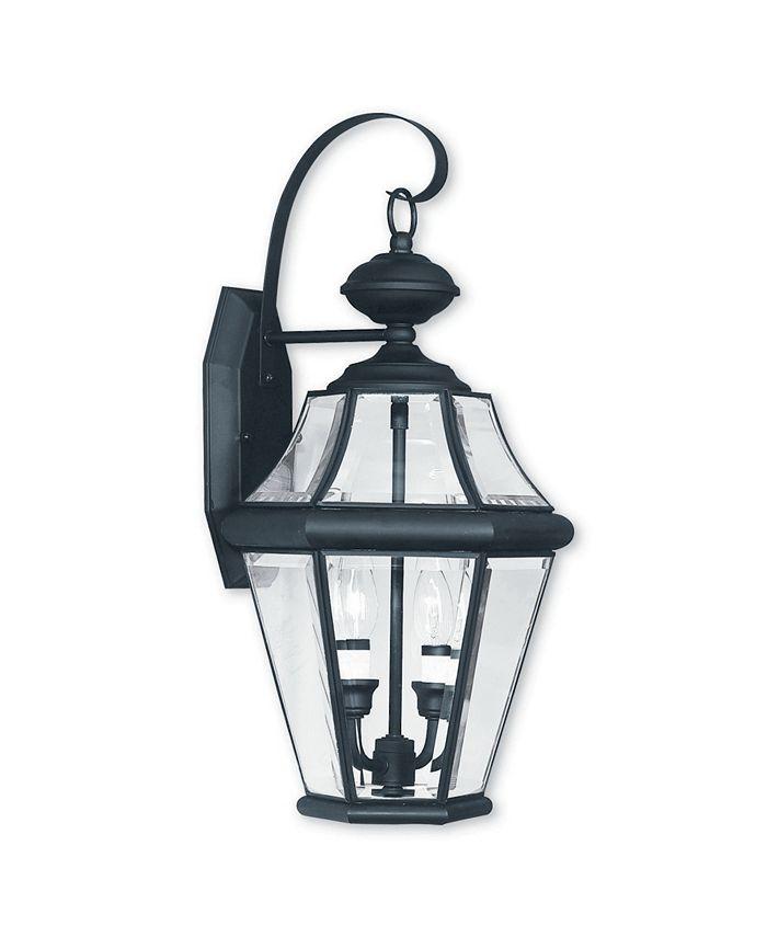Livex - Georgetown 2-Light Outdoor Wall Lantern