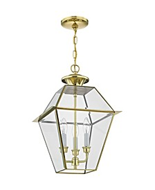 Westover 3-Light Outdoor Chain Lantern