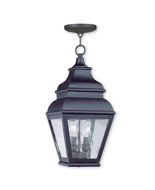 Livex Exeter 2-Light Outdoor Chain Lantern