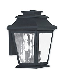 CLOSEOUT!   Hathaway 2-Light Large Outdoor Wall Lantern