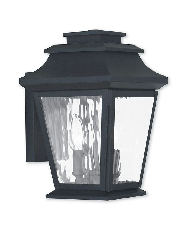 Livex CLOSEOUT!   Hathaway 2-Light Large Outdoor Wall Lantern