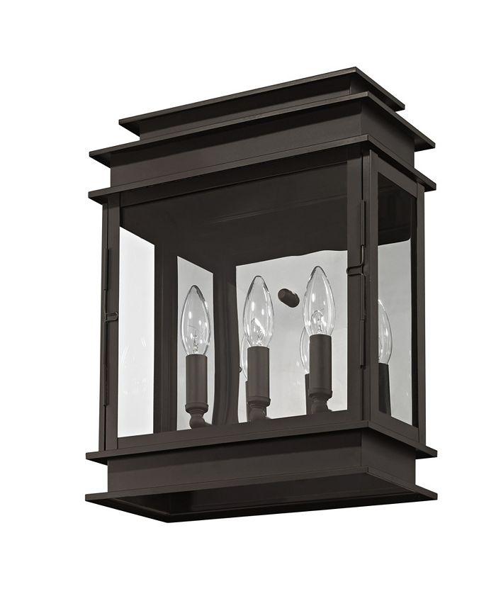 Livex - Princeton 3-Light Wall Lantern