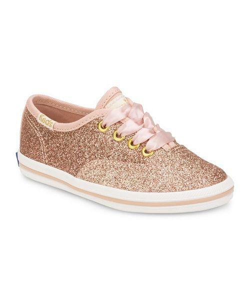 Keds Toddler Girls Keds x Kate Spade Champion Glitter Sneaker