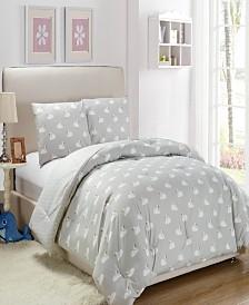 Chenia 3 Piece Full/Queen Comforter Set
