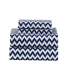Casey Chevron Queen Sheet Set