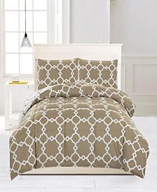 Greyson Reversible 3-Pc. King Comforter Set
