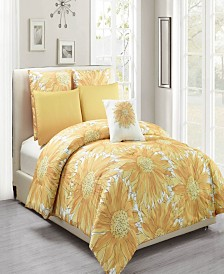 Adelphie Vera 6-Piece Full/Queen Comforter Set