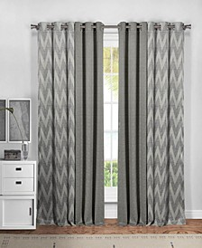 "Kelda 37"" x 84"" 4-Piece Curtain Set"