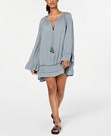 Juniors' Under the Moon Cover-Up Dress
